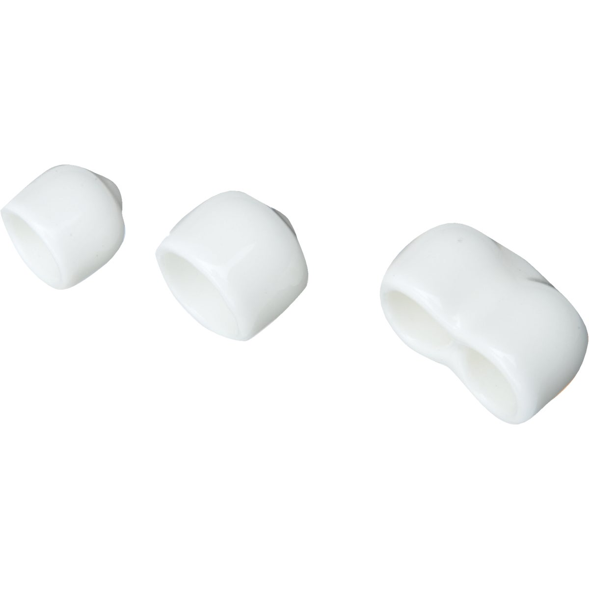 WHITE END CAPS - 7913660011 by Schulte Corp