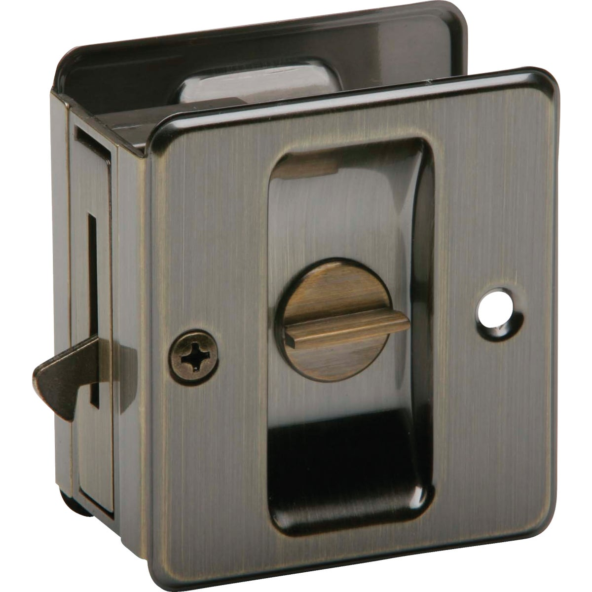 AB PRIV POCKET DOOR PULL - SC991B-609 by Schlage Lock Co
