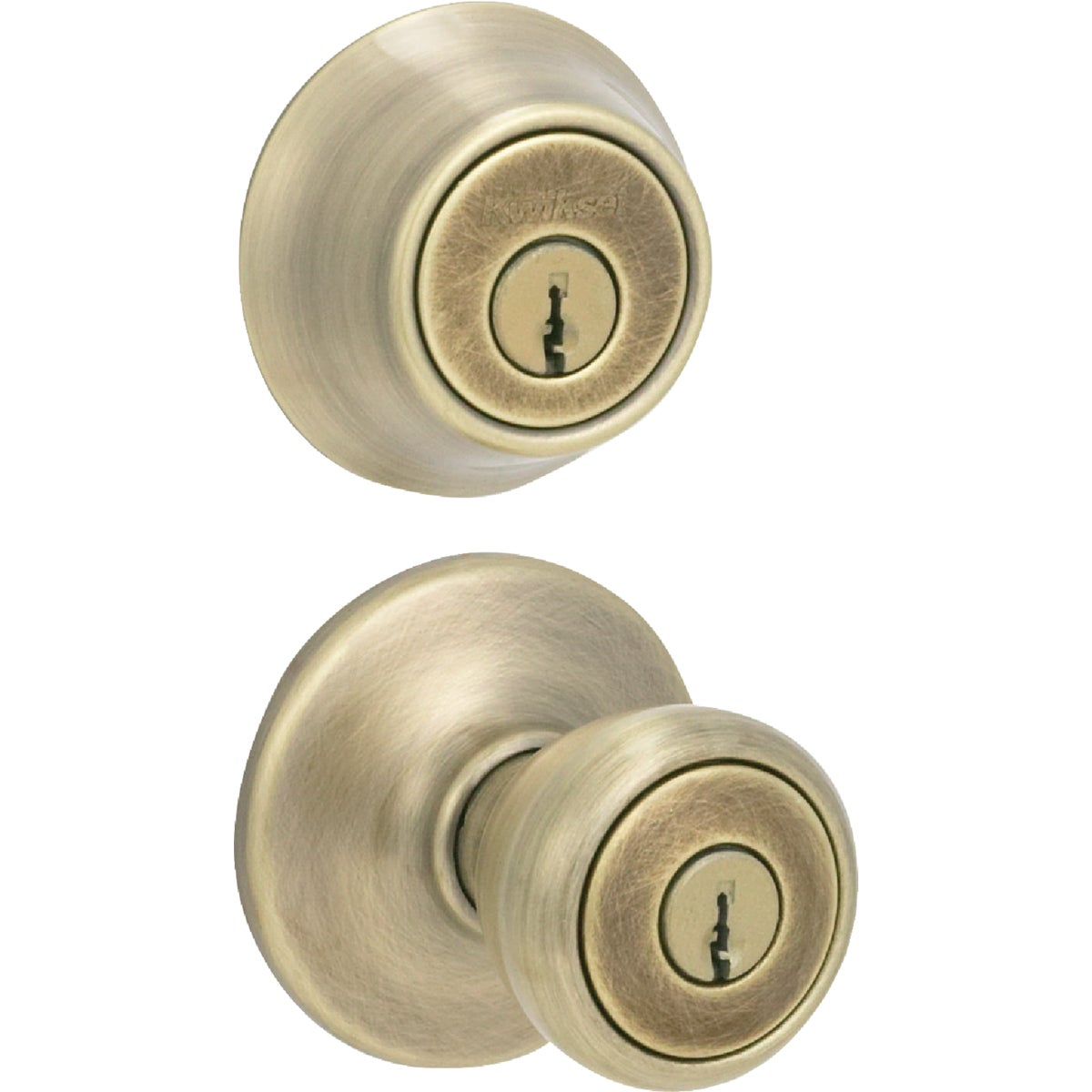 Kwikset AB TYLO 2CYL COMBO PACK 695T 5 CP CODE K6