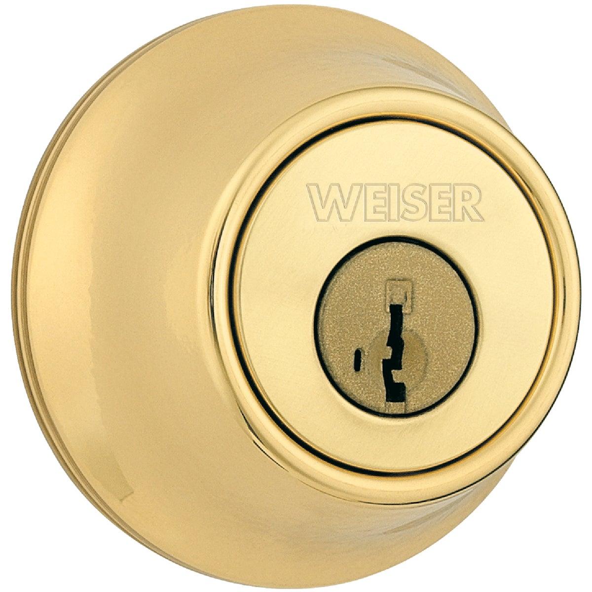 Weiser Lock PB 1CYL DEADBOLT GDC9471 3 KW K3