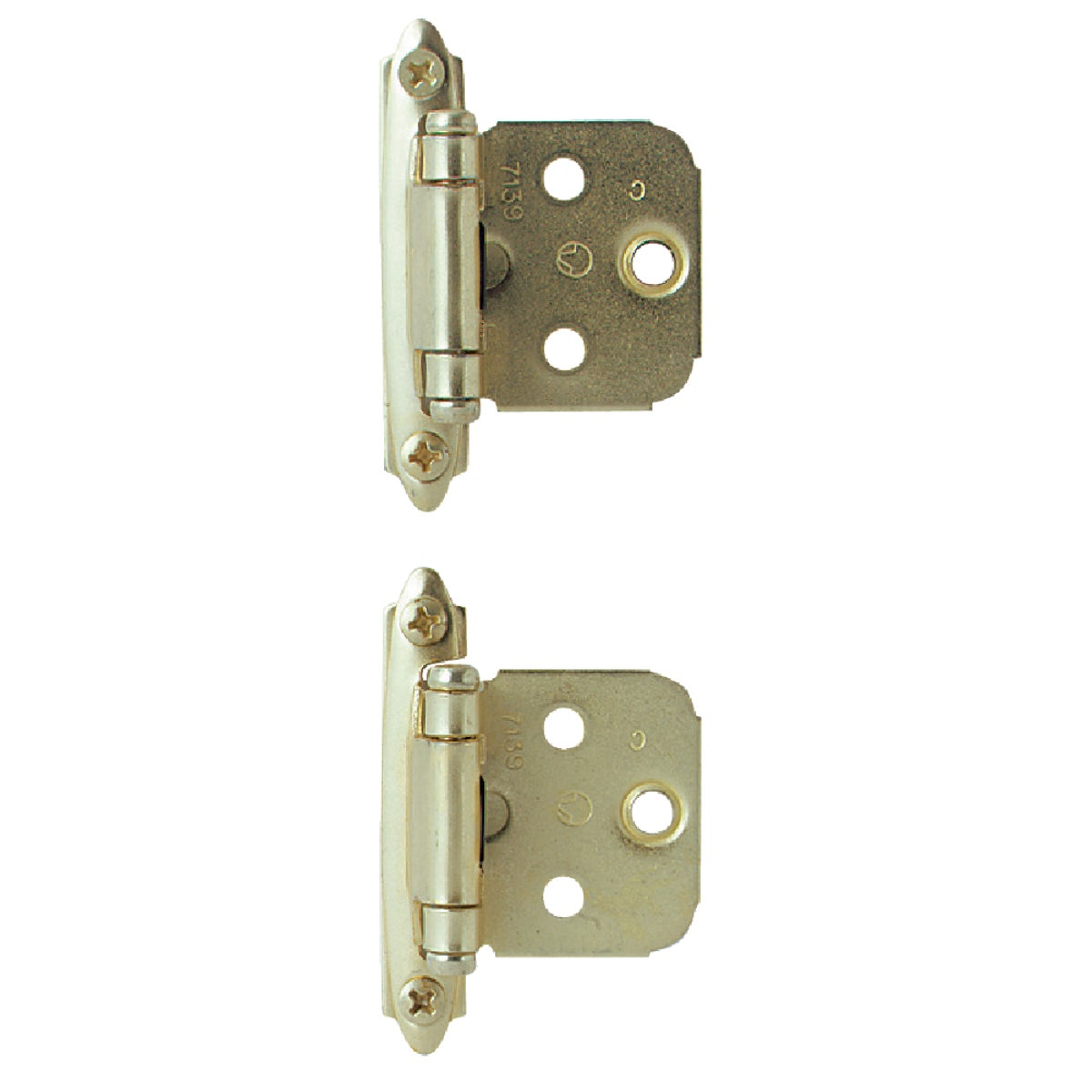 "2-3/4"" PB OVERLAY HINGE - BP3429-3 by Amerock Corporation"