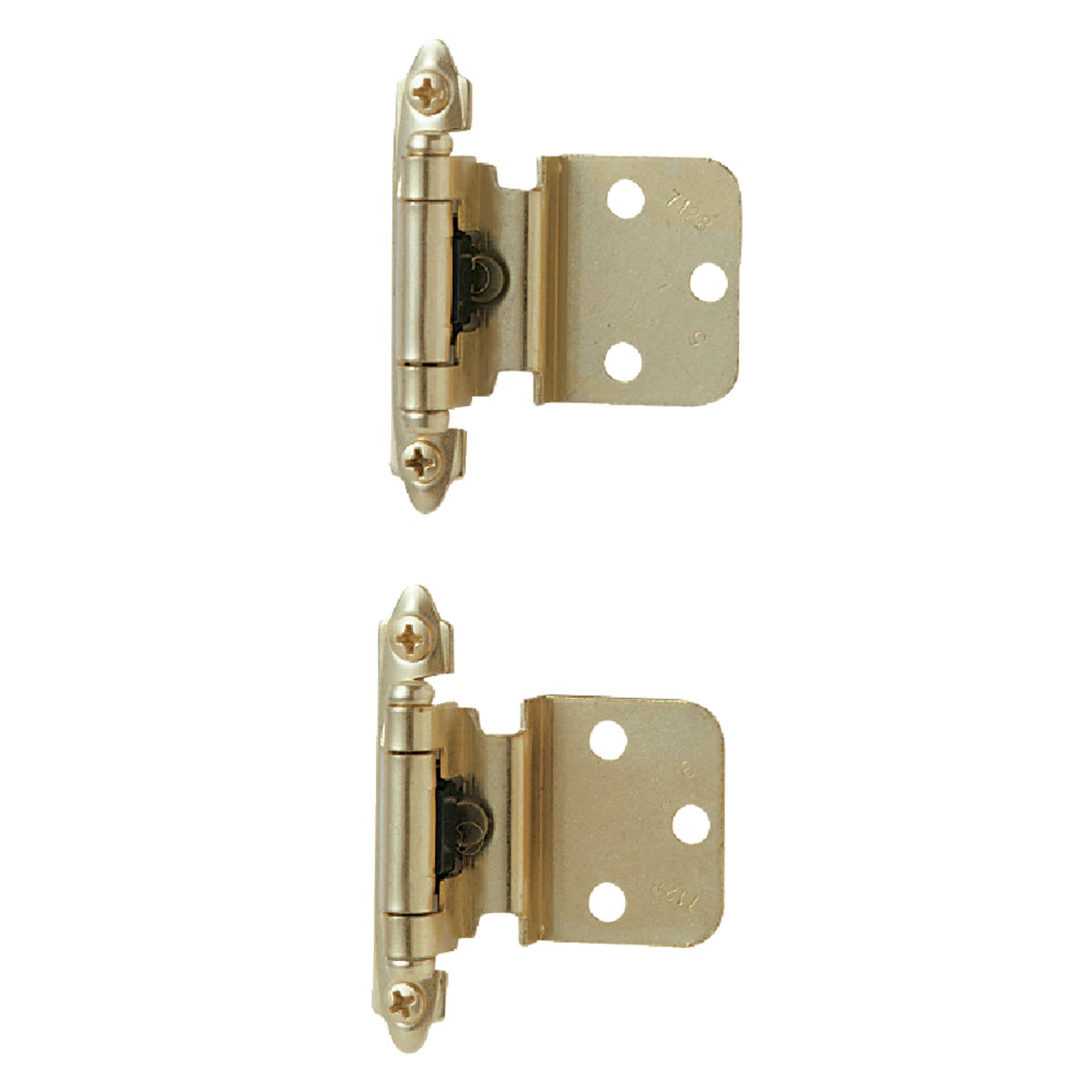 "3/8"" PB INSET HINGE - BP3428-3 by Amerock Corporation"