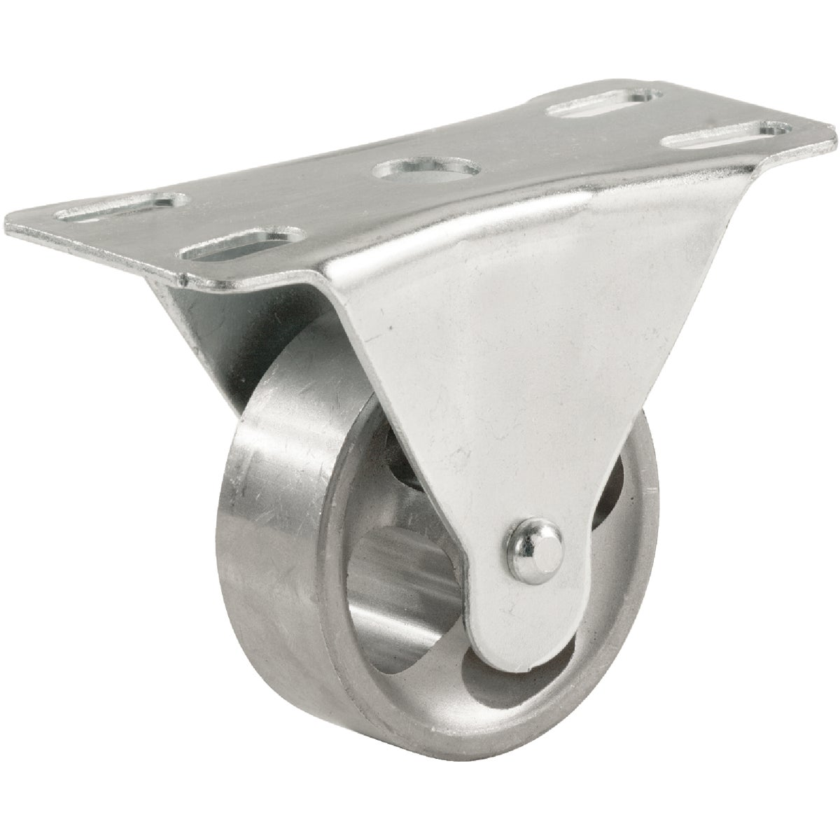 "2-1/2"" RIGID IRON CASTER - 9184 by Shepherd Hardware"