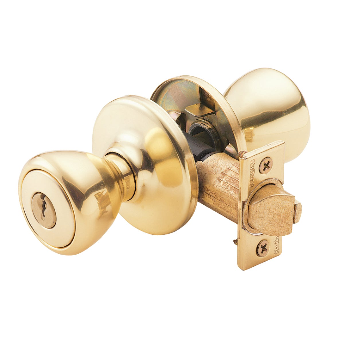 PB CP TYLO ENTRY LOCK - 400T 3 CP K6 by Kwikset