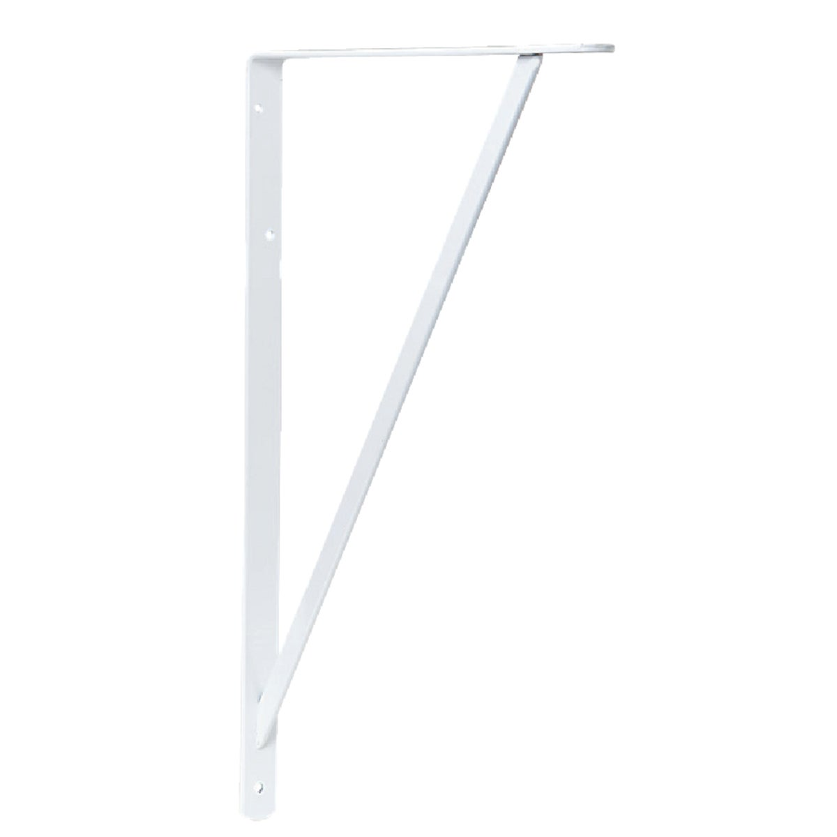 "22"" WHITE BRACKET - 208WH550 by Knape & Vogt Mfg Co"