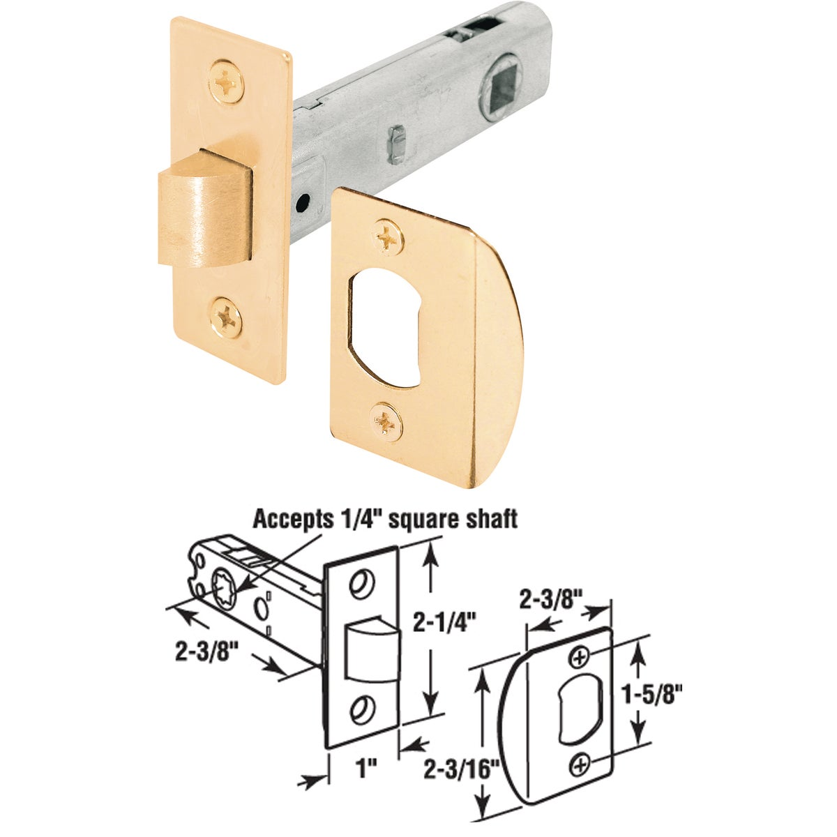 REPLACE BB TUBULAR LATCH