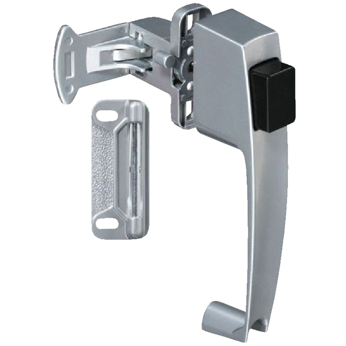 SIL PUSHBTN DOOR LATCH - N185454 by National Mfg Co