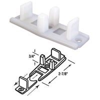Slide-Co Adjustable Nylon Base Bypass Door Bottom Guide, 16136