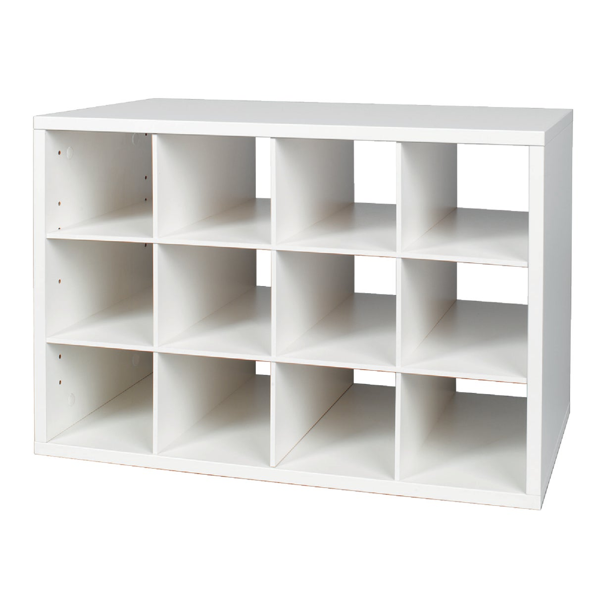 WHITE SHOE CUBBY O-BOX