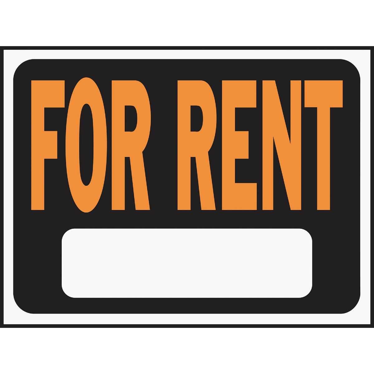 9X12 FOR RENT SIGN - 3005 by Hy Ko Prods Co