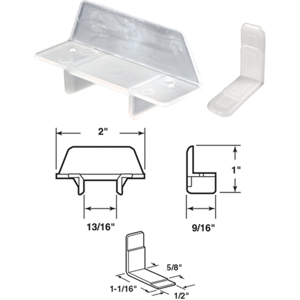 NYLON TRACK HANGER - 22485 by Prime Line Products