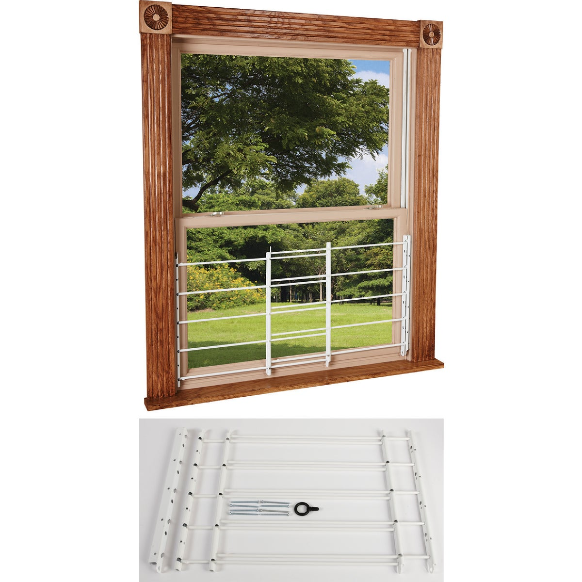 5-BAR WINDOW GUARD