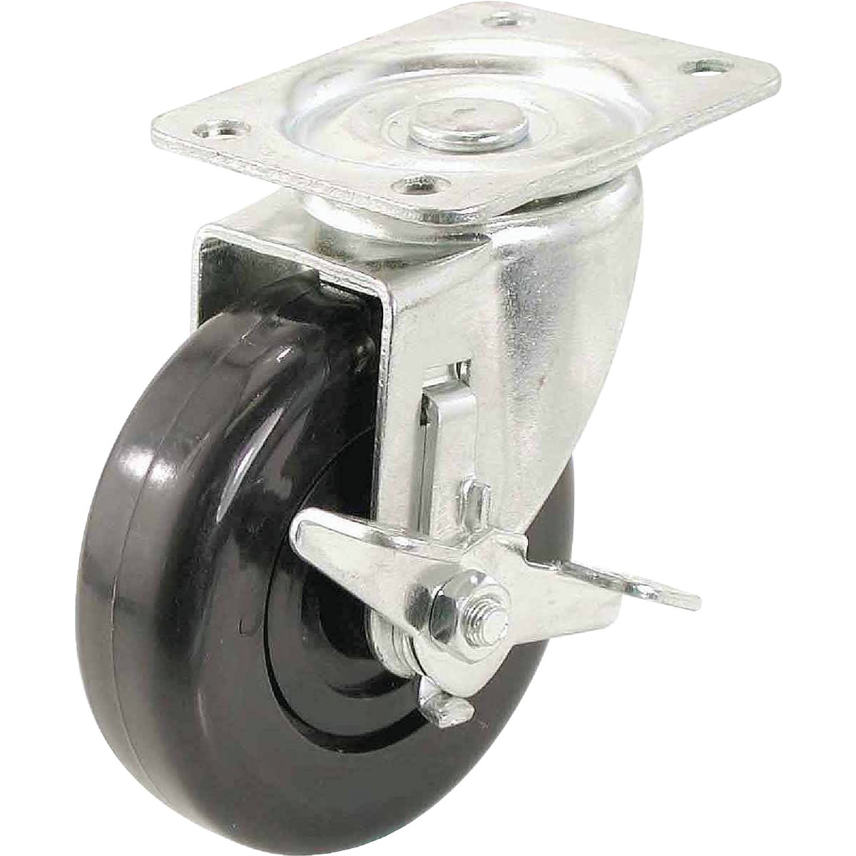"4"" SP CASTER W/ BRAKE - 3116 by Shepherd Hardware"