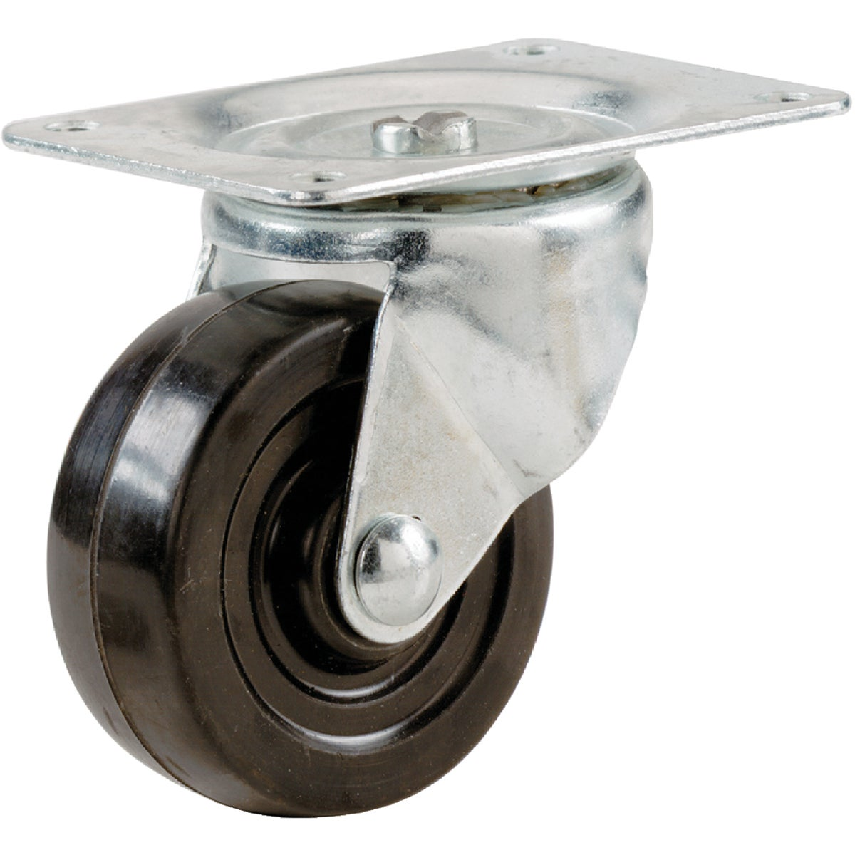 "5"" RUBBER SWIVEL CASTER - 9787 by Shepherd Hardware"