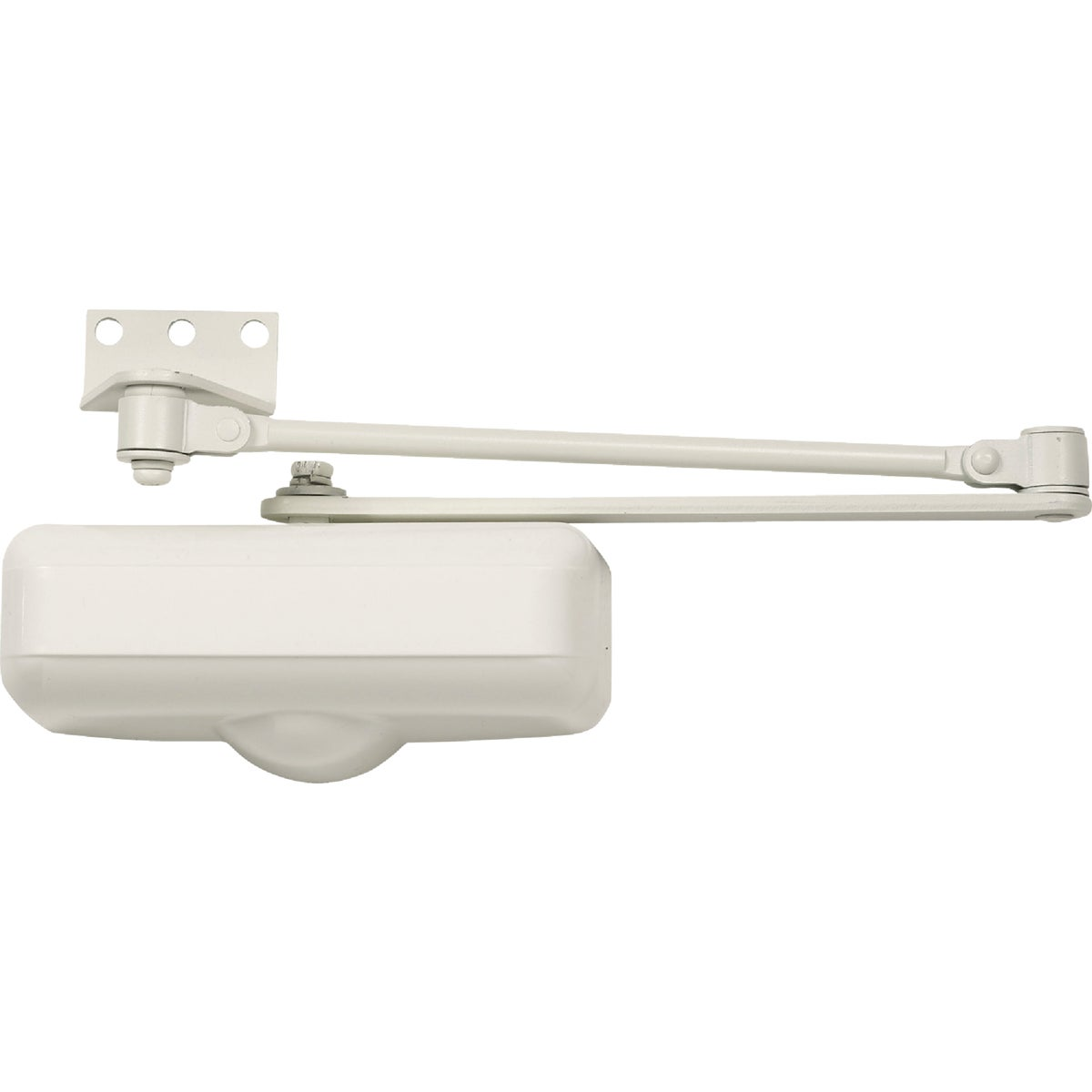 IVORY RES DOOR CLOSER - DC100081 by Tell Mfg Inc