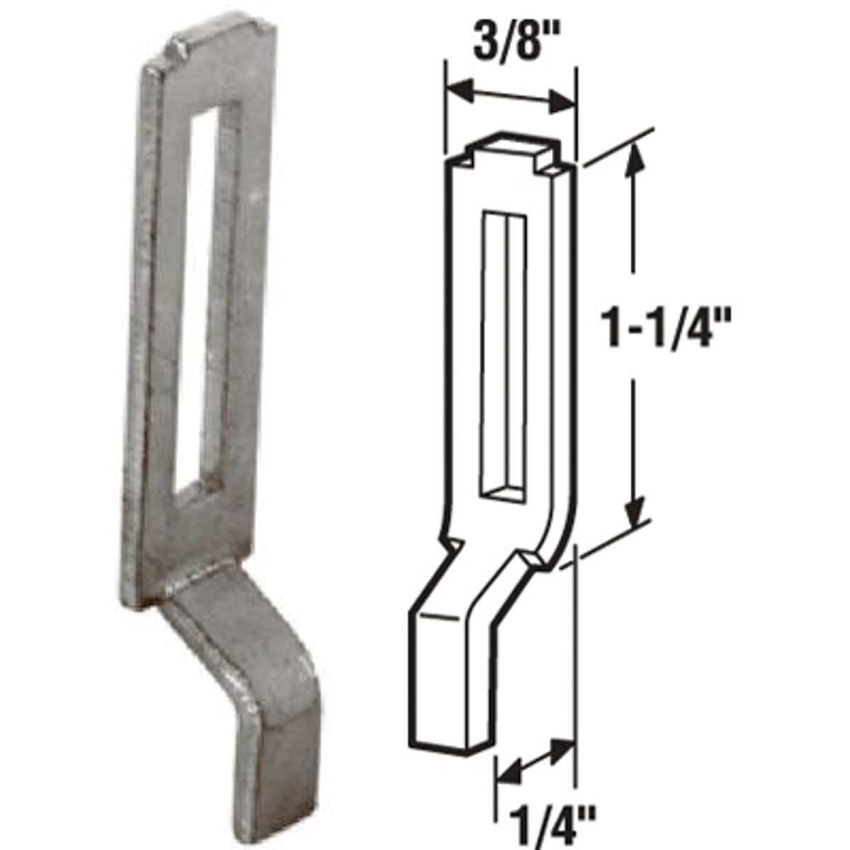 SCREEN DOOR STRIKE - 121090 by Prime Line Products