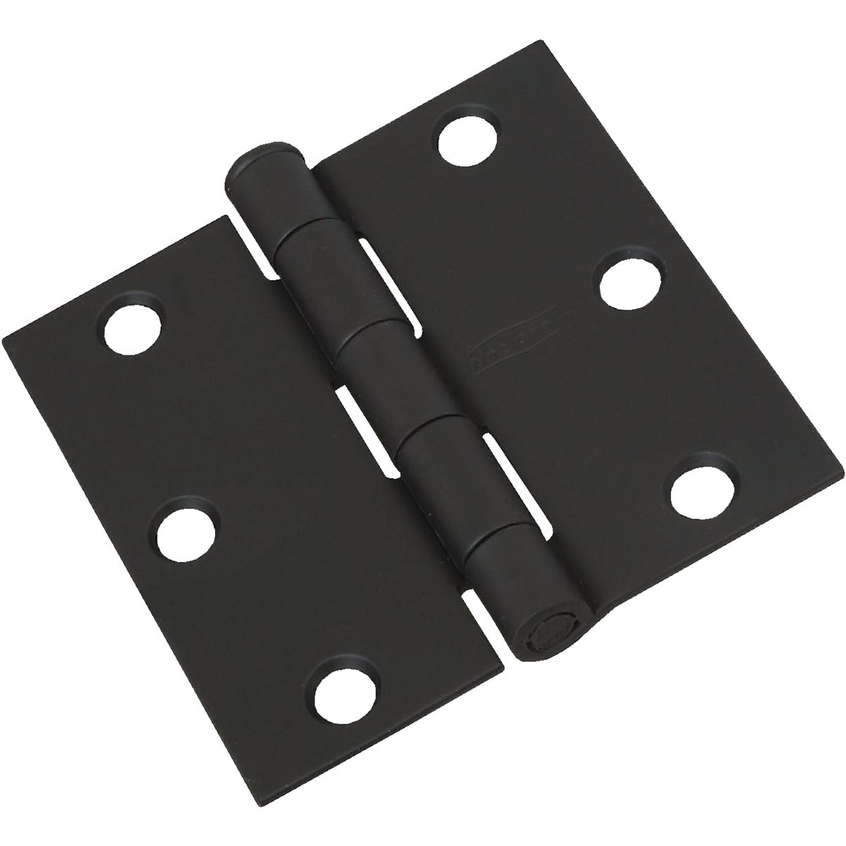 3X3 BLK DOOR HINGE