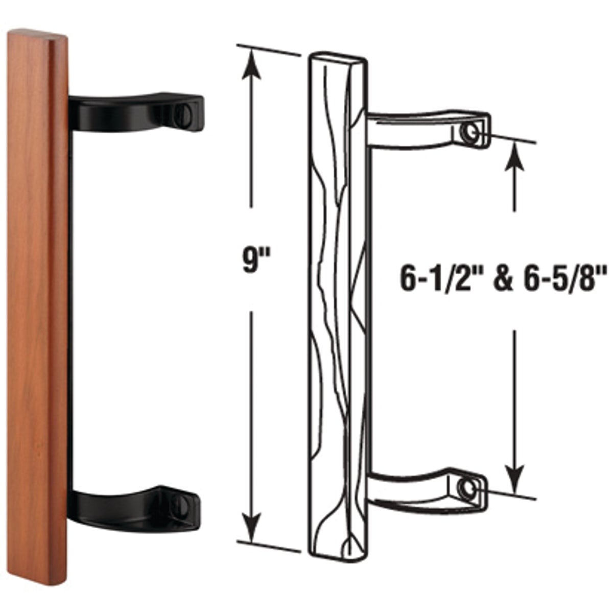 PATIO DOOR PULL - 142268 by Prime Line Products