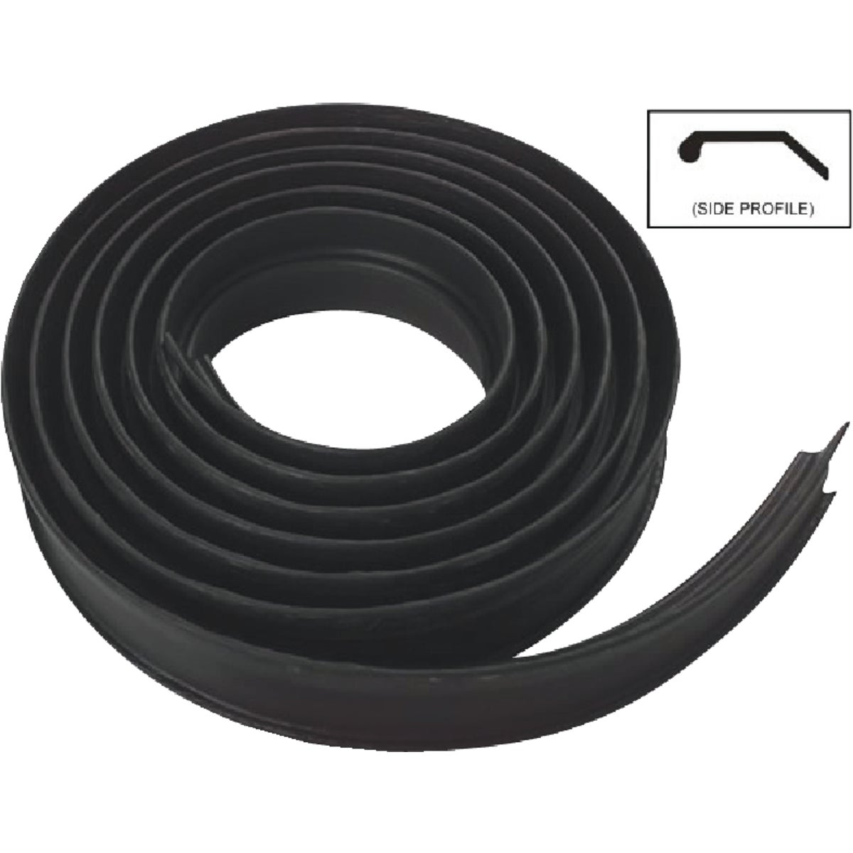 10' BLK WEATHERSTRIPPING - N281279 by National Mfg Co