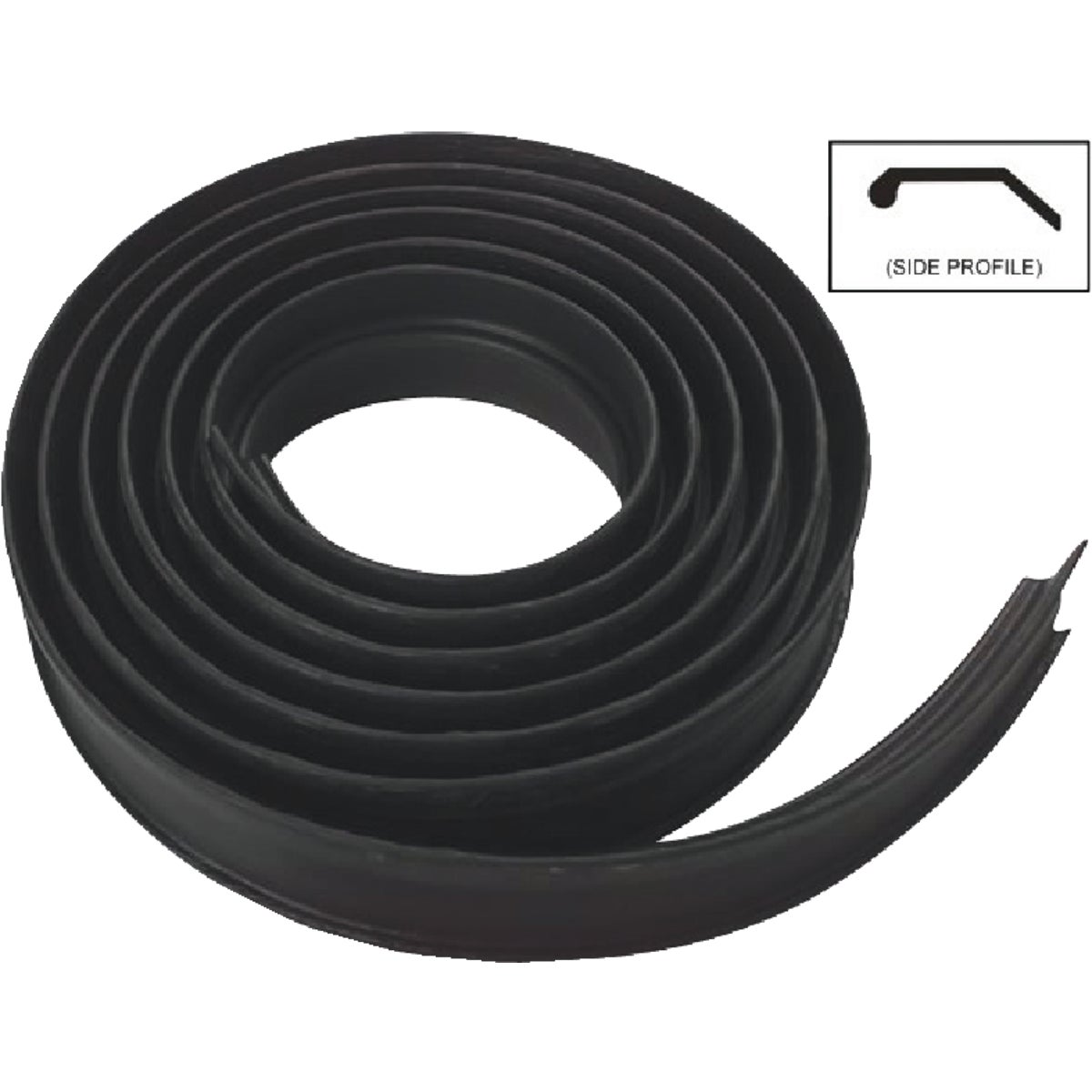 16' BLK WEATHERSTRIPPING - N281295 by National Mfg Co