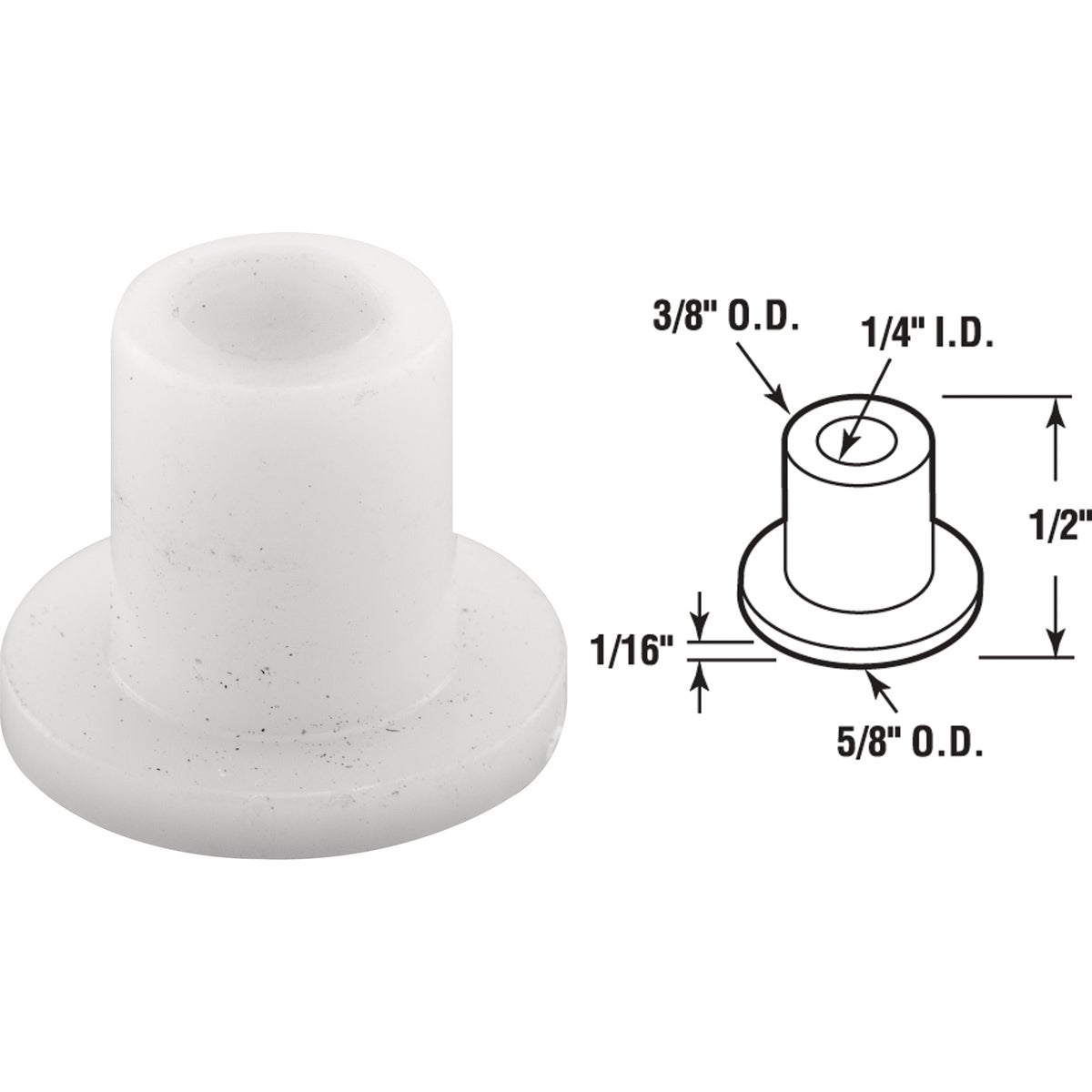 BI-FOLD CAP GUIDE - 16860 by Prime Line Products