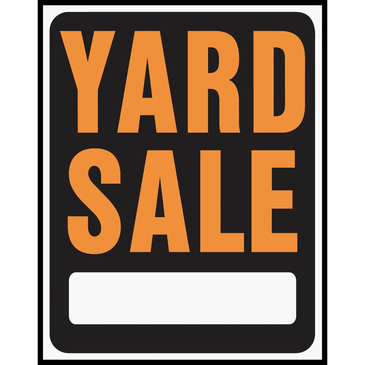 15X19 YARD SALE SIGN