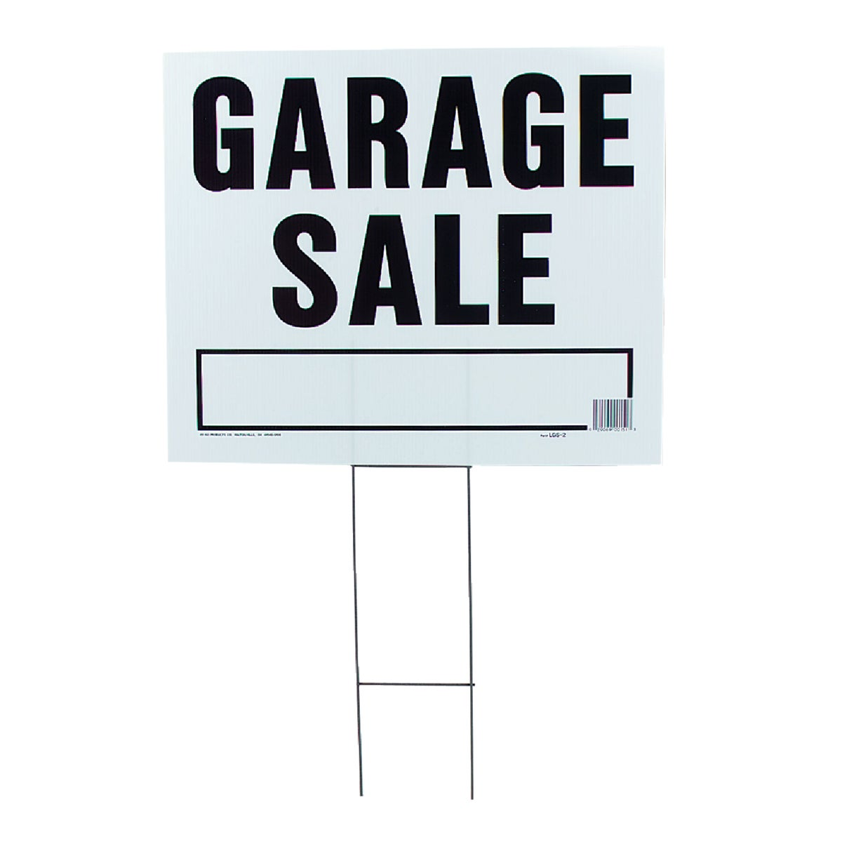 20X24 GARAGE SALE SIGN - LGS-2 by Hy Ko Prods Co