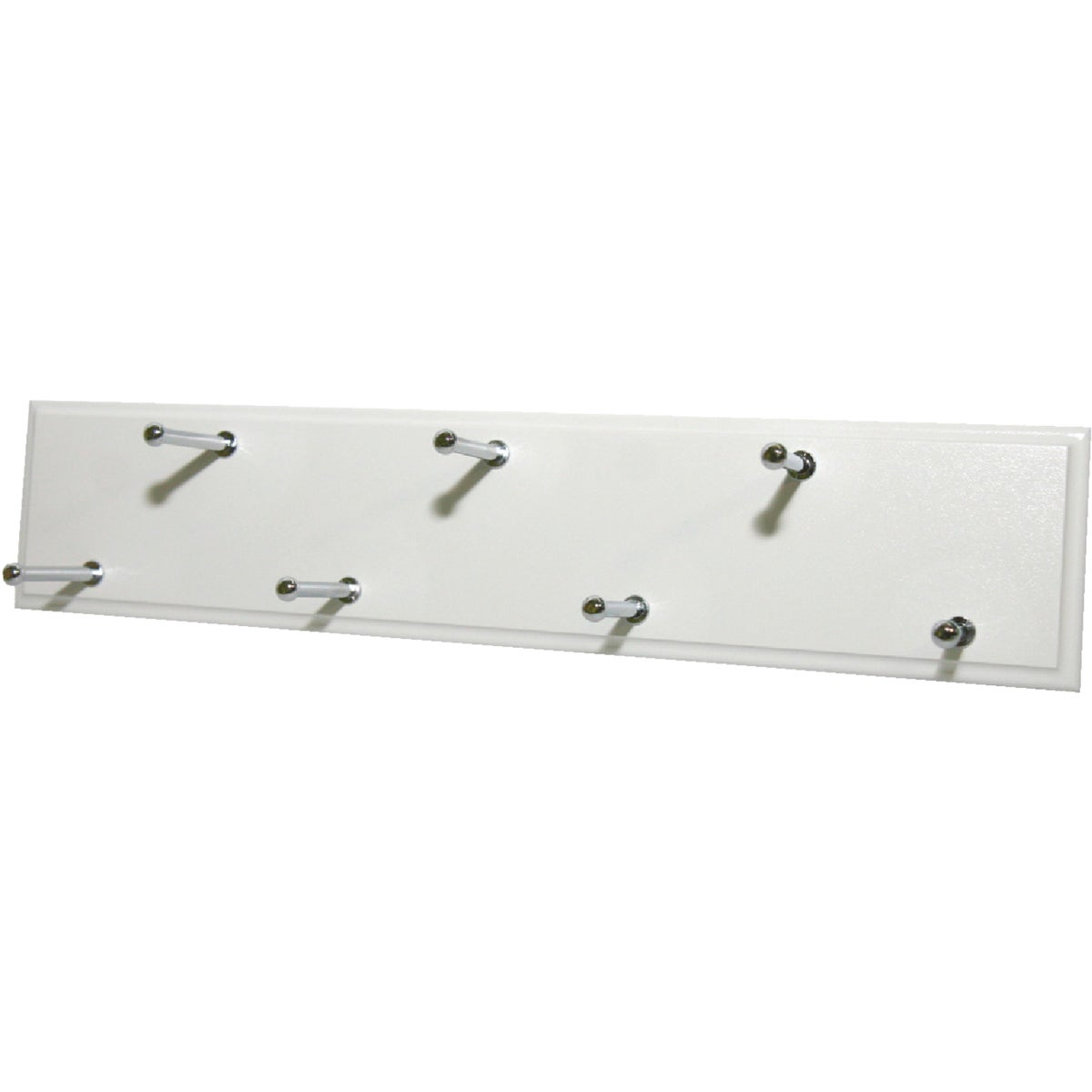 WHITE SLIDING BELT RACK
