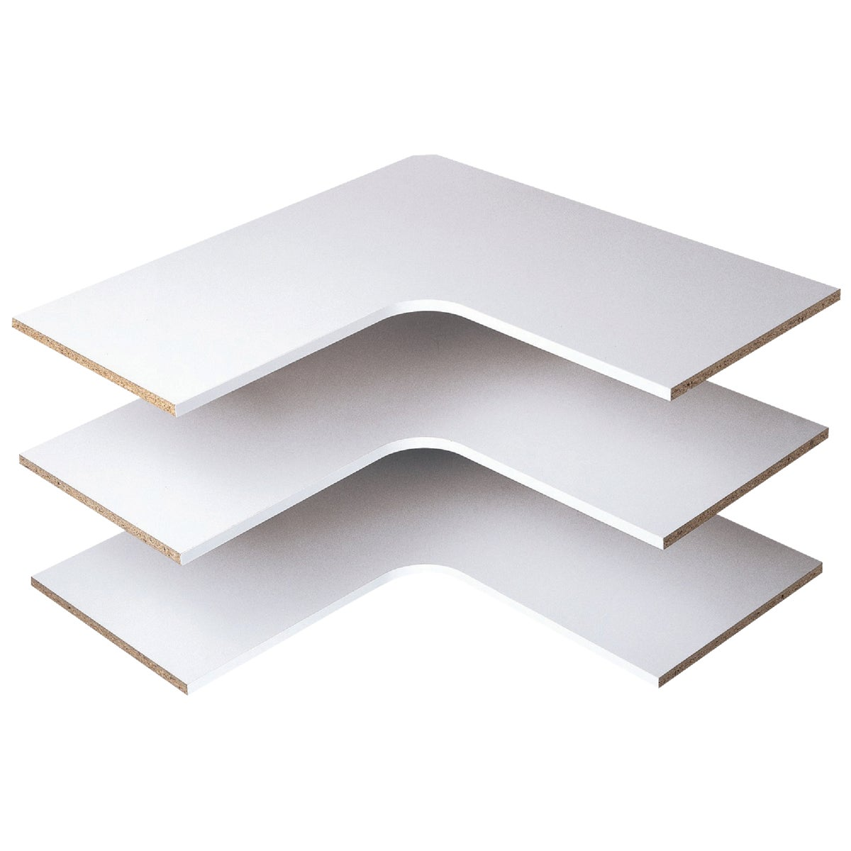 3PK CORNER SHELVES - RS3003 by The Stow Company