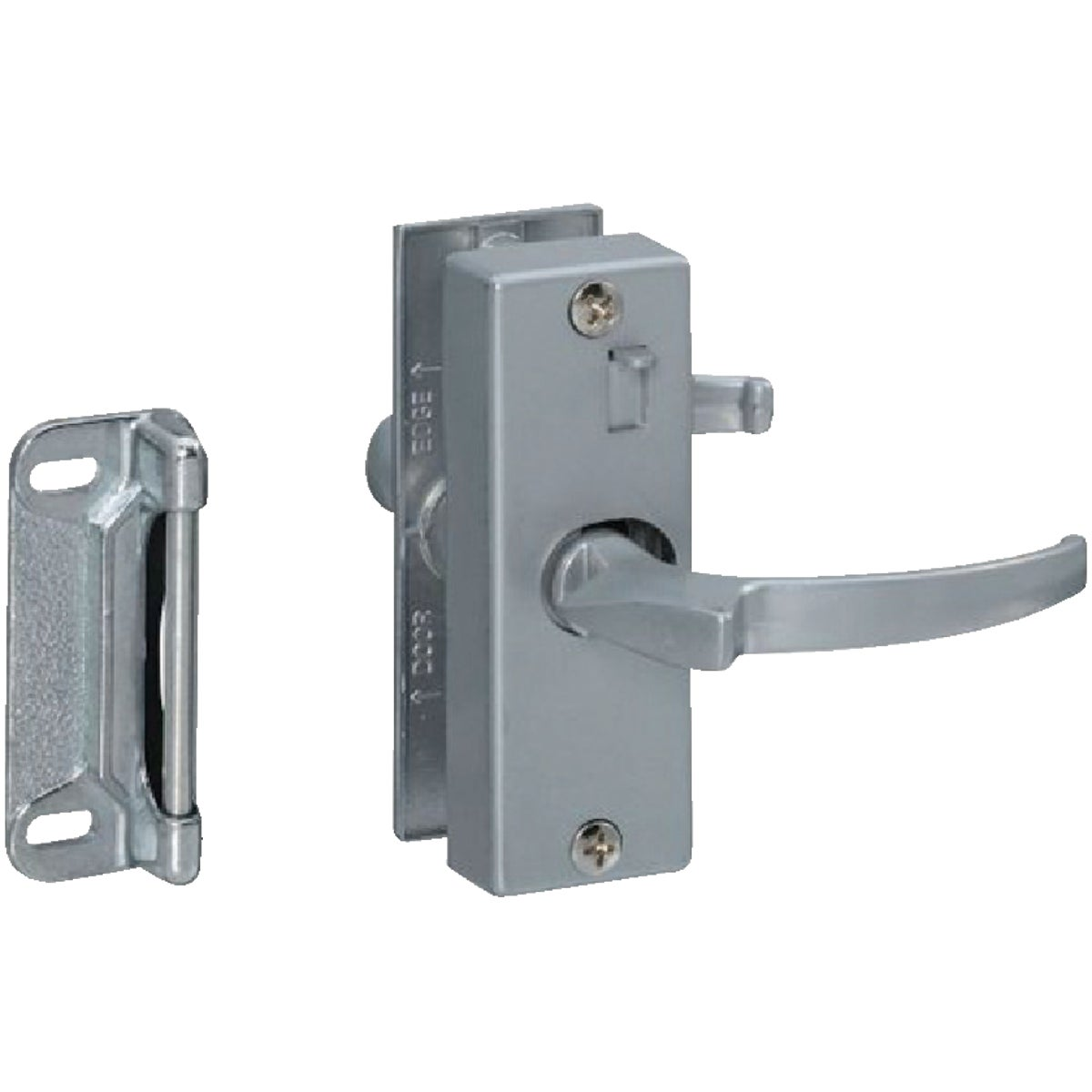 ALUM PUSH/PULL LATCH