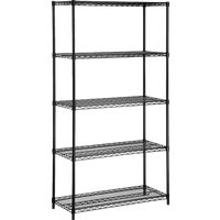 Honey Can Do BLK 5 TIER HVY DTY SHELF SHF-01440