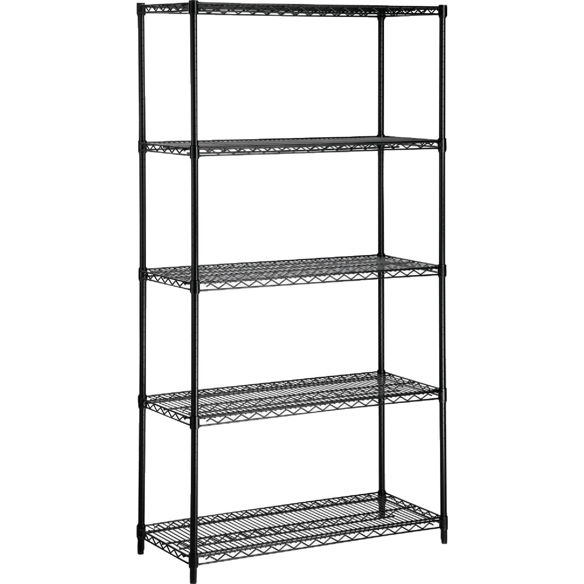 BLK 5 TIER SHELF - SHF-01442 by Honey Can Do