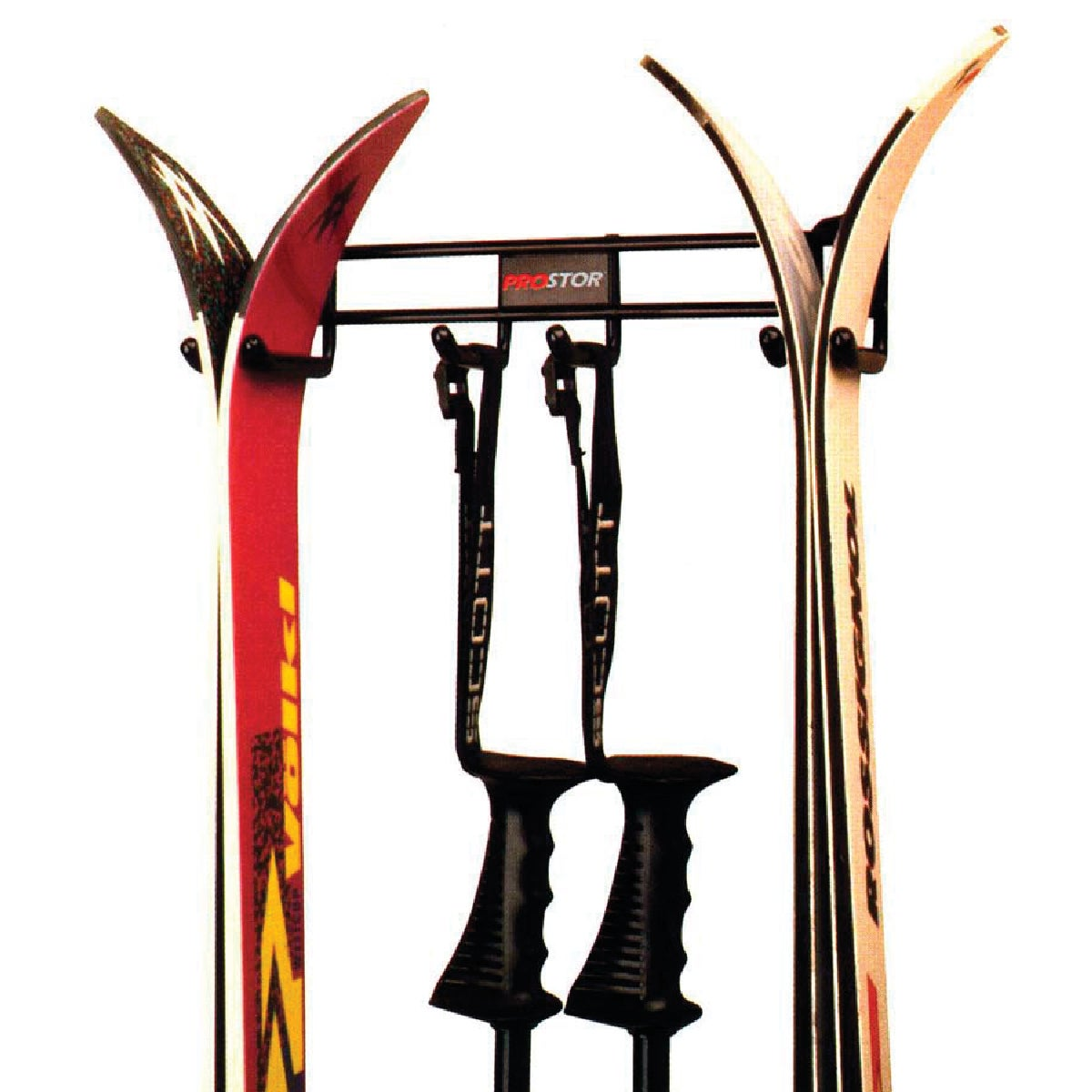 DOUBLE SKI/POLE RACK