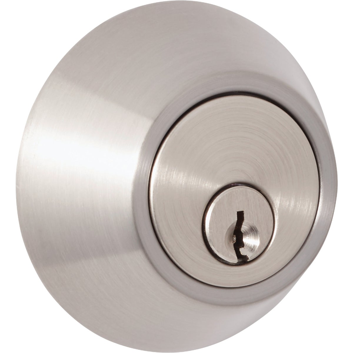 SN CP 1CYL DEADBOLT - D101SN CP by Do it Best