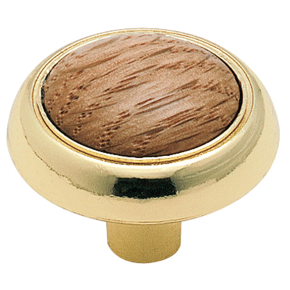 "1-1/4"" PB KNOB - 2650PB by Amerock Corporation"