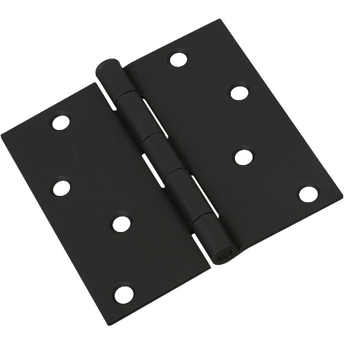 4X4 BLK DOOR HINGE - N241208 by National Mfg Co
