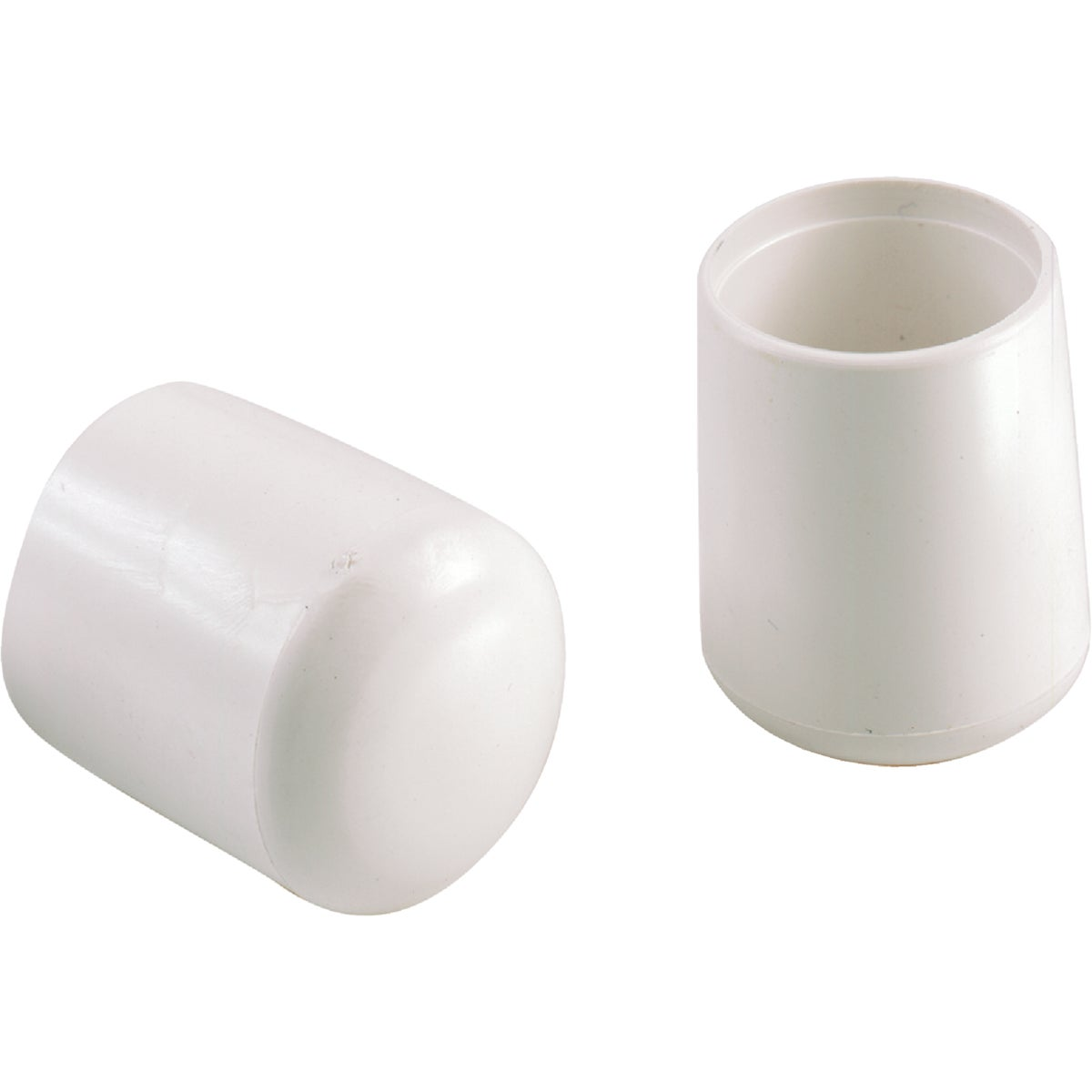 "5/8"" WHITE VINYL LEG TIP - 209392 by Shepherd Hardware"