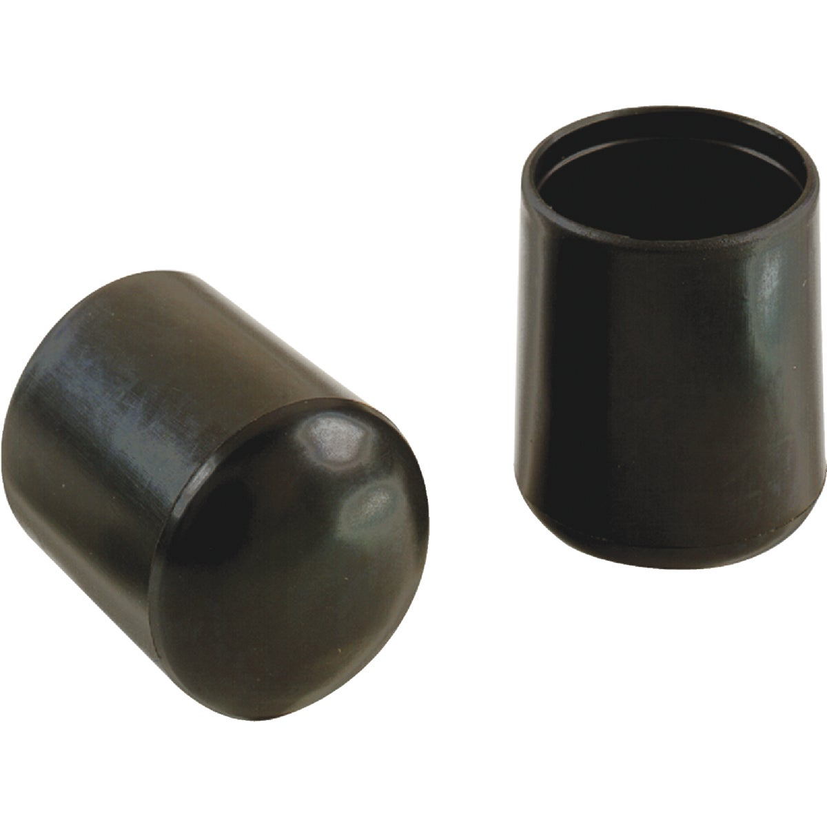 "3/4"" BLACK VINYL LEG TIP - 209457 by Shepherd Hardware"