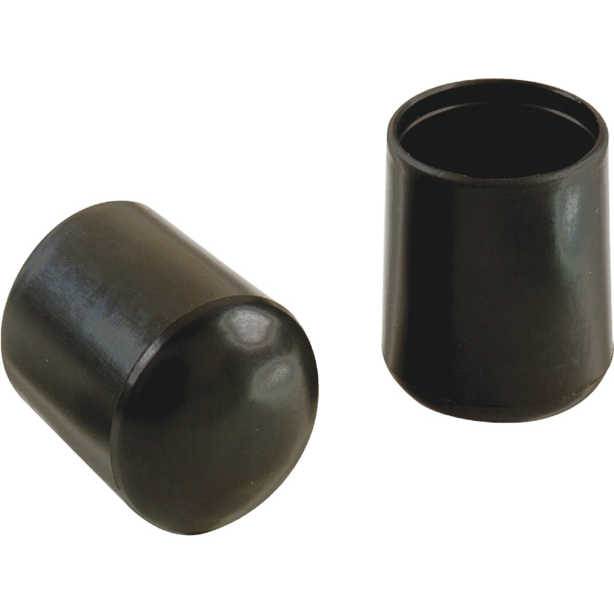 "7/8"" BLACK VINYL LEG TIP - 209473 by Shepherd Hardware"