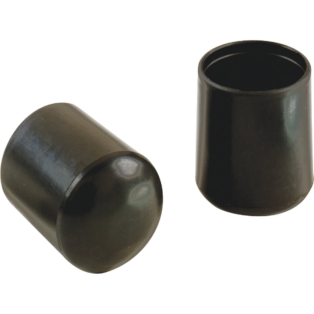 "1"" BLACK VINYL LEG TIP - 209481 by Shepherd Hardware"