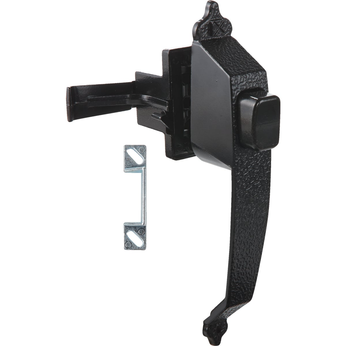BLK COLNL PUSHBTN LATCH - N100023 by National Mfg Co