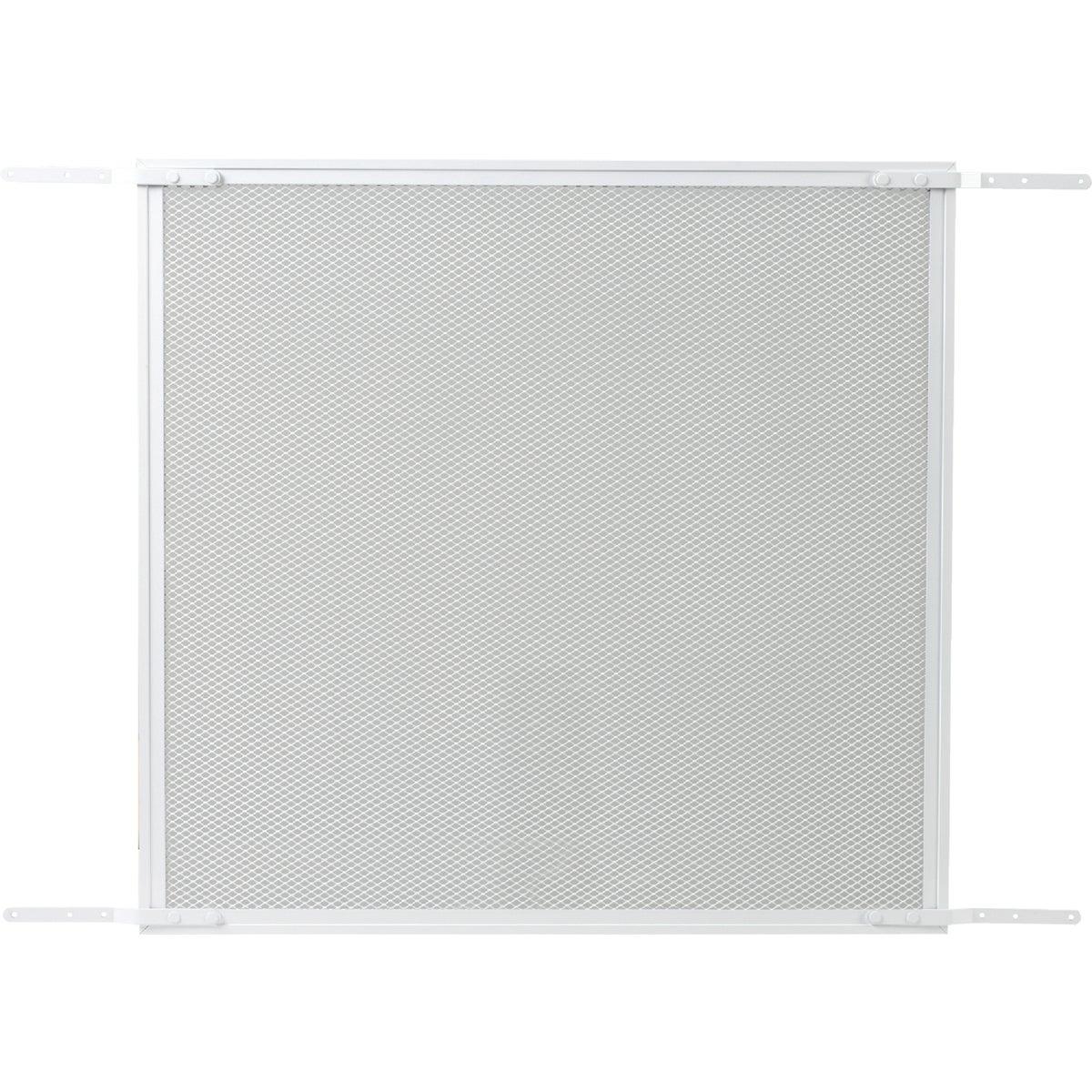 WHITE DOOR GRILLE