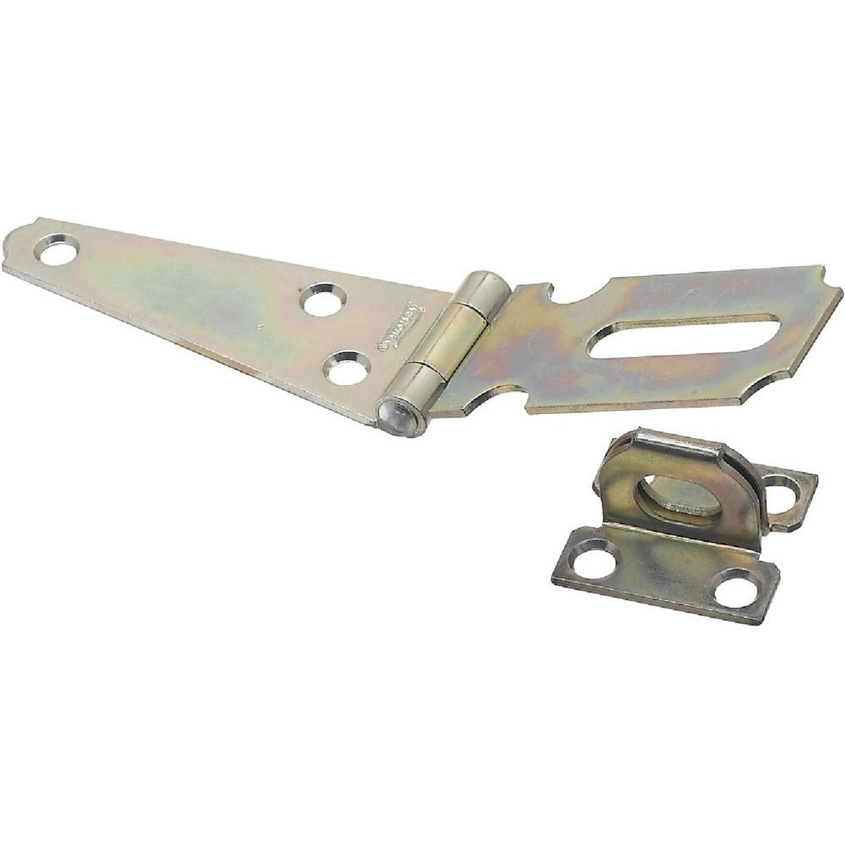 "3"" ZINC HINGE HASP - N129577 by National Mfg Co"