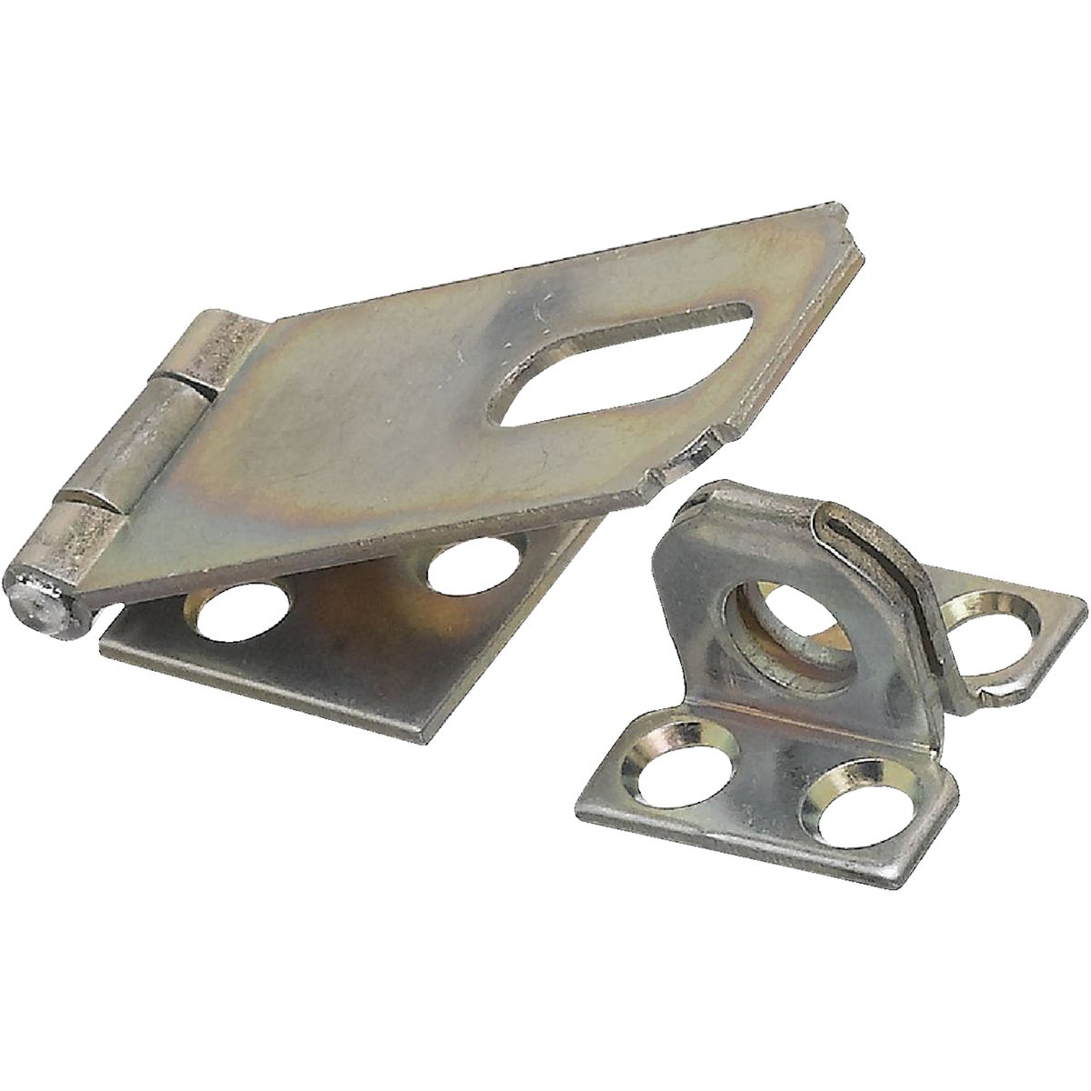 "2-1/2"" ZINC SAFETY HASP"
