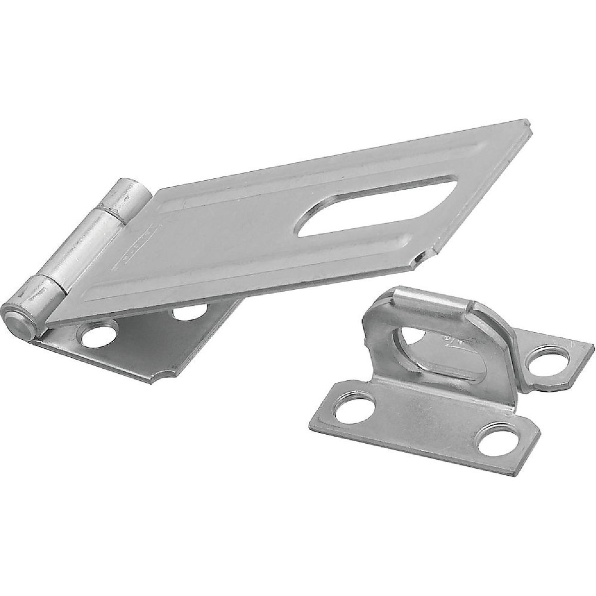 "4-1/2"" ZINC SAFETY HASP - N102384 by National Mfg Co"