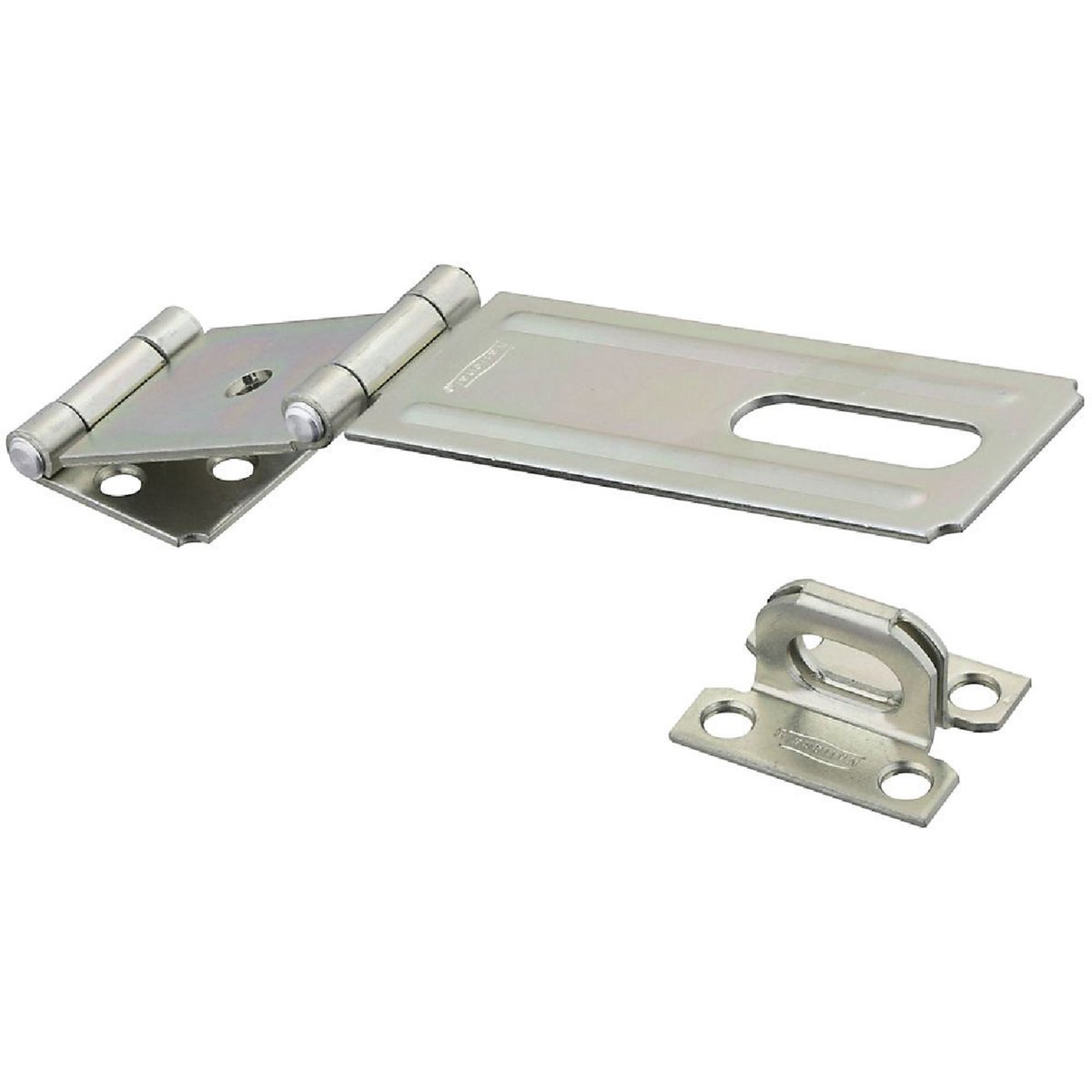 """4-1/2"""" DOUBLE HINGE HASP - N103291 by National Mfg Co"""