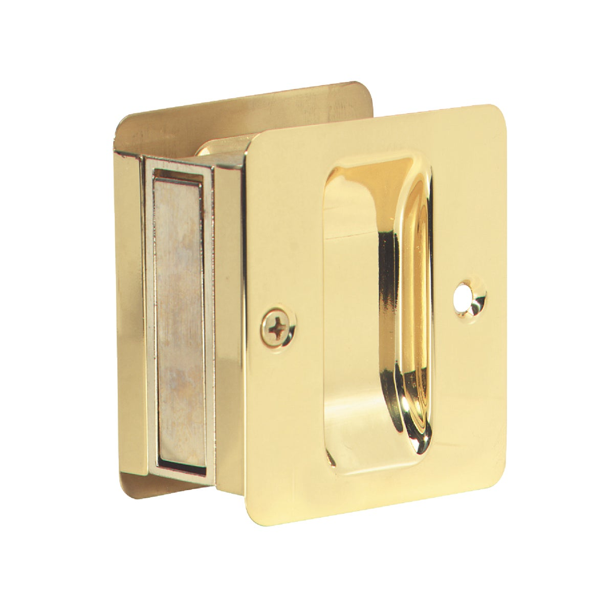 PB PASS POCKET DOOR PULL - SC990B-605 by Schlage Lock Co