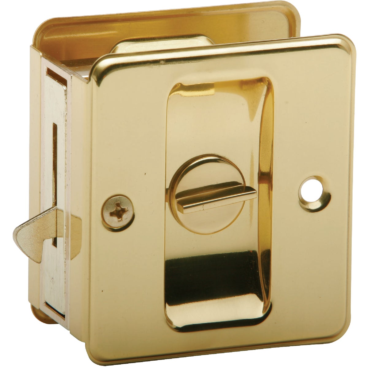 PB PRIV POCKET DOOR PULL - SC991B-605 by Schlage Lock Co