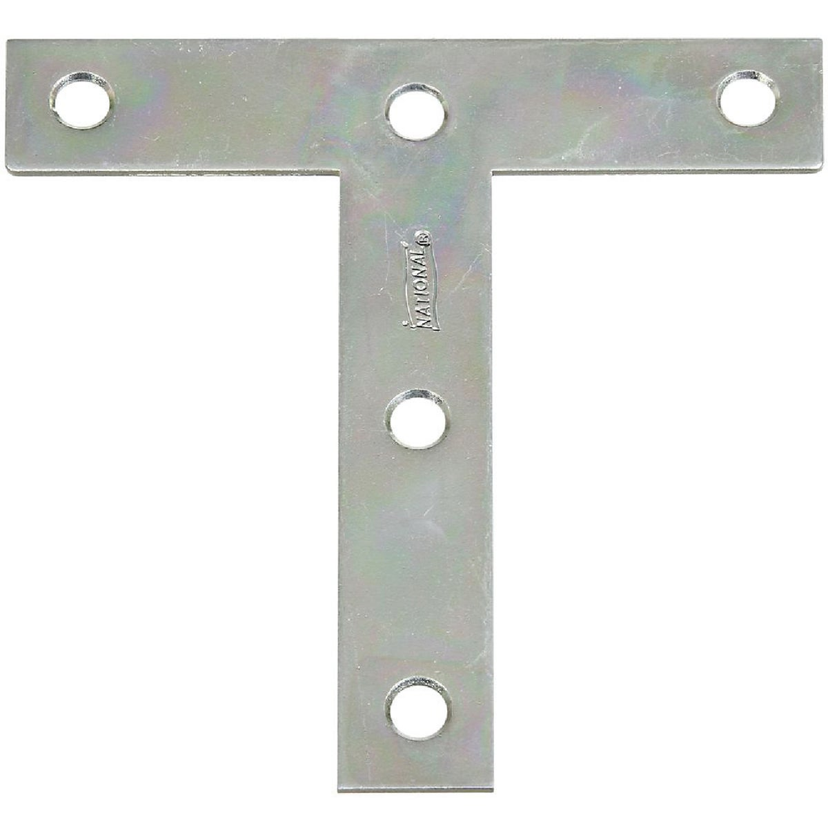 4X4 ZINC T-PLATE - N266445 by National Mfg Co