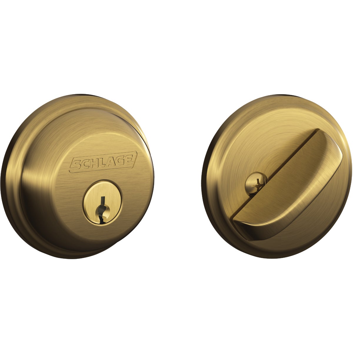 AB 1CYL DEADBOLT - B60NV609 by Schlage Lock Co
